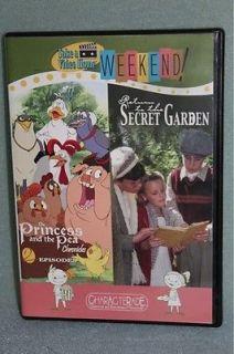 The Princess The Pea Chronicles Return to Secret Garden DVD