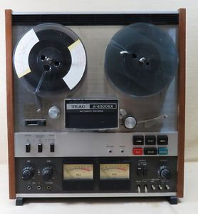 Vintage Teac A 4300sx Reel to Reel Tape Recorder Deck Auto Reverse Player Repeat