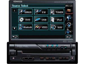 Kenwood KVT 514 7 inch Car DVD Player