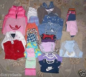 Big Lot Baby Clothes Girls Designer Hannah Disney Gap NB 12 MO 18 MO 4T 5T 7