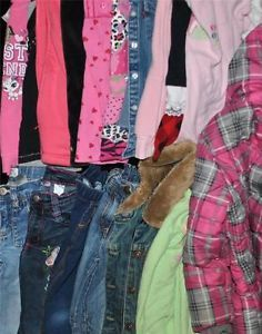 Huge Used Girls Kids Toddler 5 5 6 6 Yrs Years Fall Winter Clothes Outfits Lot