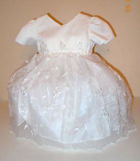 Baptism Christening Dress Bautizo Virgen Vestido Girl