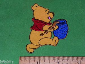"""Disney Winnie Pooh Character Customize Baby Kid's Clothing Iron Sew on 3"""" Patch"""