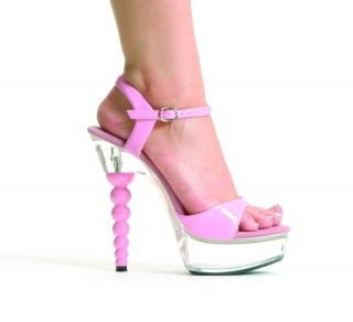 Barbie Baby Pink Sandals Dancing Ladies Sexy Shoes Womens High Heels Size 2 7 UK