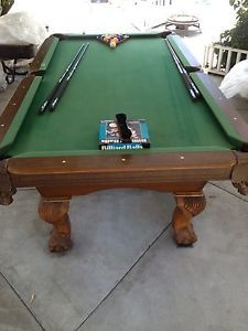 Sportcraft Pool Table With Darts And Wall Mount - Sportcraft 8 foot pool table