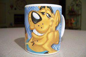 Scooby Doo Cartoon Great Dane Dog Hanna Barbera Monogram Coffee Tea Mug Cup