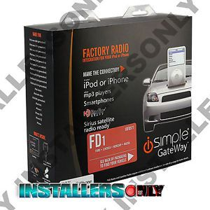Pac Is FD571 Ford Factory Radio iPod iPhone Car Stereo Aux Audio Input Interface