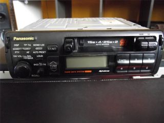 Panasonic RD50 Car Stereo Radio Cassette Player with RDS Tape Player