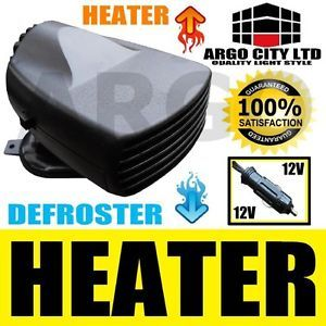 12V Auto 2in1 Fan Heater Cooler Defroster Demister Car Ceramic Heating Cooling