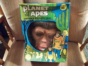 Planet of The Apes Halloween Costume Ben Cooper 1974 Child's ' Lisa '