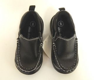 Okie Dokie Toddler Boys Loafer Dress Shoes Black Size 4 10 U Pick Size
