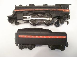 Vintage Lionel Train Set Working Engine 249 6 Freight Cars 30 Track 1 Crossover