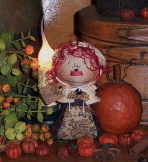 Primitive Thanksgiving Pilgrim Ann Rag Doll Pattern 527