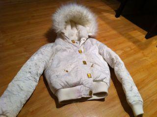 Baby Phat Beautiful White Fashion Jacket Petite Sz XS or Junior