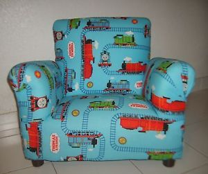 Thomas The Train Toddler Boy Arm Chair Cartoon Comfort Bedroom Furniture