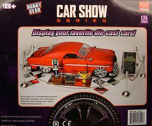Phoenix Toys 1 18 or 1 24 Scale Car Show Series Diorama Accessories