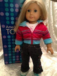 American Girl Just Like You Doll Blonde Hair Blue Eyes Orig Box