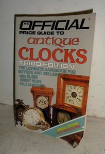 Official Price Guide to Antique Clocks Book
