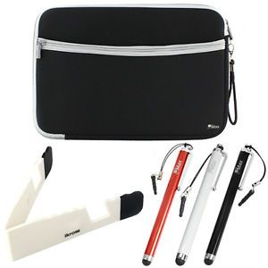 Pouch Case Stand 3X Stylus Pen for Samsung Ativ Smart PC Pro 700T Smart PC 500T