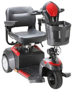 """Ventura 3 Wheel Mobility Scooter with Folding 18"""" Seat Power Electric Chair"""