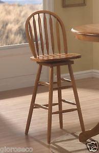 "29"" Woodlawn Arrow Back Bar Stool Coaster Furniture Dining Room Chair New 4338"