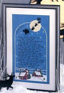 D Morgan Santa Letter Holy Family Snow Bunny More Cross Stitch Magazine