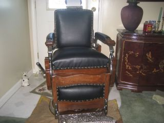 koken president barber chair