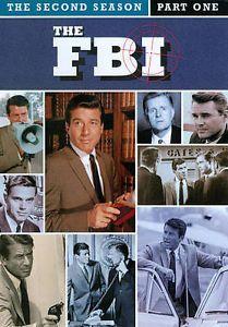 1960's Classic Crime Drama TV Series DVD The FBI Season Two Part One 1966 Efrem
