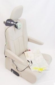 Flight Simulator Leather Gaming Seat Chair for Cockpit Simpit Pilot FSX x Plane