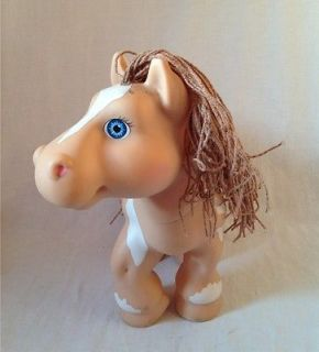1992 Cabbage Patch Kids Crimp N Curl Pony Horse Paint Plastic Hasbro Doll Pink