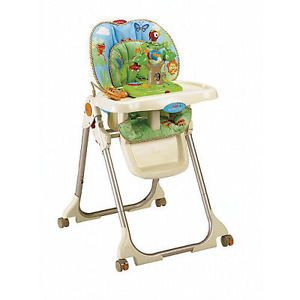 Fisher Price Rainforest High Chair Replacement Cover Pad Cushion Seat
