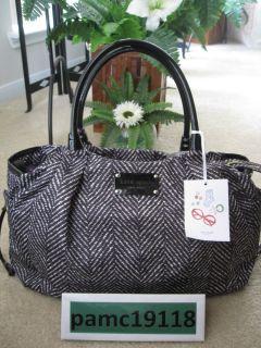 NWT Kate Spade New York Stevie Baby Bag Logan Square Black $395