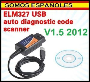Diagnosis ELM327 Elm 327 USB V1 5 OBD2 Multimarca OBDII Coche Diagnostic Car