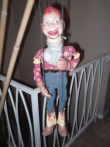 Vintage Howdy Doody Marionette 1950'S