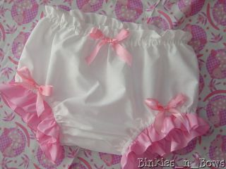 Adult Baby Sissy Diaper Cover Dress Up Custom Made Any Size You Need