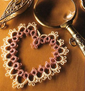 Learn to Tat DVD Book Patterns Doilies Lace Edging How Tatting Delicate Pretty