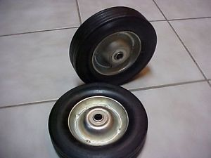 2 Hand Truck Dolly Cart Replacement Wheels Tires