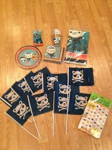 Octonauts Party Supplies Sets of Plates Cups Napkins A Table Cover More