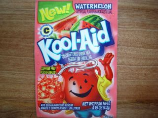 30 RARE Kool Aid Drink Mix Watermelon Combined Shipping Available