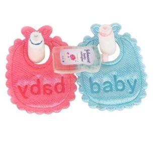 5pcs Dollhouse Miniature Nursery Accessory Baby Bibs Bottles Shampoo Cute