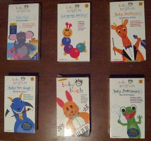 Baby Einstein VHS Lot