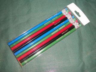 9 Pencils Minecraft Birthday Party Bag Easter Filler Creeper Steve Red TNT