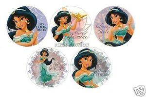 15 Jasmine Stickers Disney Princess Kid Reward Party Goody Loot Bag Favor Supply