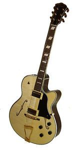 Johnson Archtop Electric Guitar Used