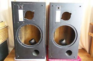 2 JBL L26 Decade Speakers L 26 Speaker Cabinets Enclosures Boxes No Crossover