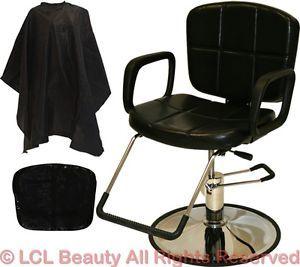 Recline All Purpose Hydraulic Styling Barber Chair Shampoo Hair Salon Equipment