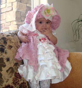 Pageant Autmn Fall OOC Baby Girl Casual Wear Custom 12M 2 3 4 5 6 78 9 10
