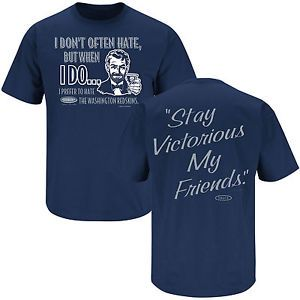 """Dallas Cowboys Fans """"Stay Victorious"""" T Shirt"""