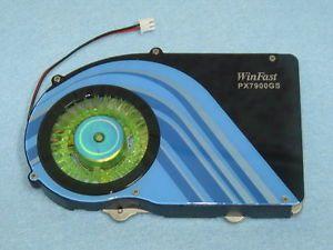NVIDIA GeForce 7800GS 7900GS 7950GT Video Card Heatsink Cooler Fan 2pin 53mm
