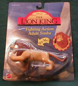 Lion King Fighting Action Adult Simba Disneys for Ages 3 and Over